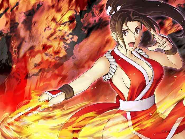 Milf Hentai Haiki Shobun Shiranui Mai No.2- King of fighters hentai Fatal fury hentai School Swimsuits