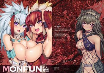 Groping MONFUN- Monster hunter hentai Schoolgirl