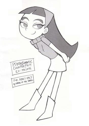Yaoi hentai Psychosomatic Counterfeit Ex: Trixie- The fairly oddparents hentai Threesome / Foursome