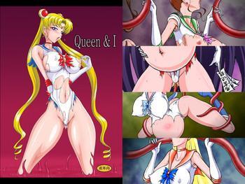 Three Some Queen & I- Sailor moon hentai Facial