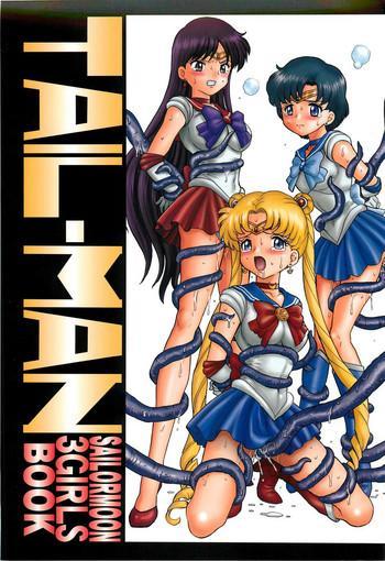 Outdoor TAIL-MAN SAILORMOON 3GIRLS BOOK- Sailor moon hentai Office Lady