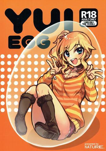 Uncensored YUI EGG- The idolmaster hentai Kiss